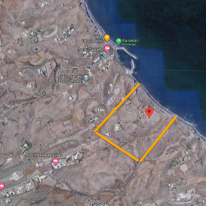 Plot in Santorini Greece